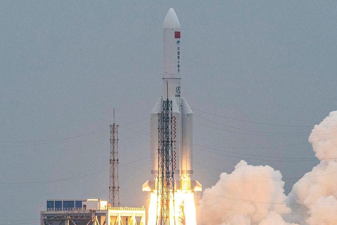 De lancering van de Lange Mars 5B-raket verliep op 29 april volgens plan.