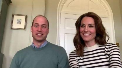 "Prins William en Kate over lockdown: ""Thuisonderwijs is uitdagend"""