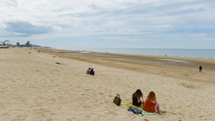 La plage d'Ostende.