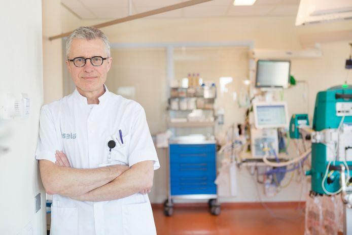 Hans ter Haar, IC-verpleegkundige en beademingsspecialist Isala