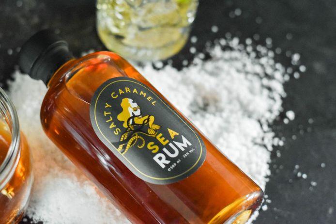 """Sterkstokers lanceert de nieuwe rum 'Sea Rum""""."""