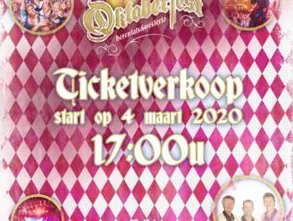 Oktoberfest Herentals & Westerlo start voorverkoop voor nieuwe editie: slechts 3.000 tickets beschikbaar