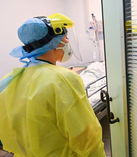 Moins de 730 patients aux soins intensifs