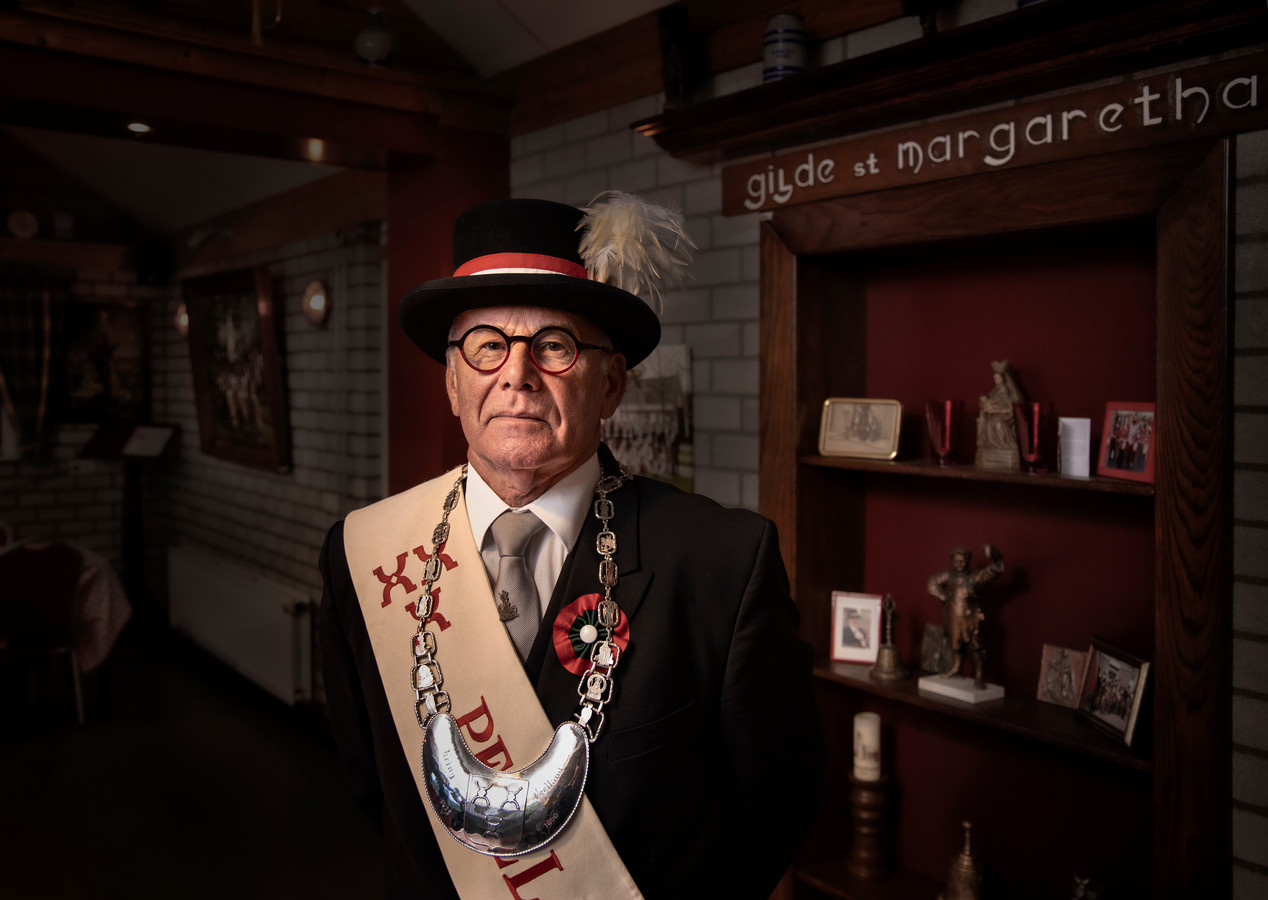 Henk de Hair is voorzitter Kring Peelland en zelf gildebroeder bij het Sint Margarethagilde uit Aarle-Rixtel.