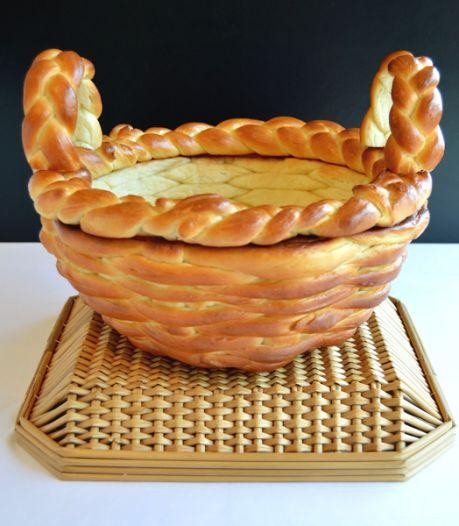 Leuk klusje met de kinderen: maak een broodmandje voor je paasontbijt