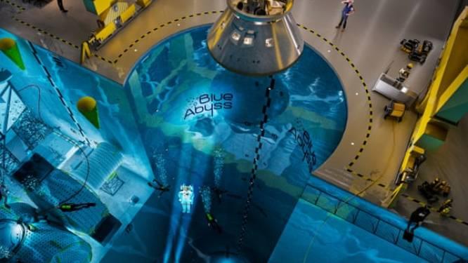 Britse Cornwall wil diepste zwembad ter wereld bouwen om er astronauten te trainen