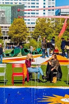 Meest omstreden plein van Rotterdam gaat op de schop: 'Die kranen moeten in elk geval blijven'