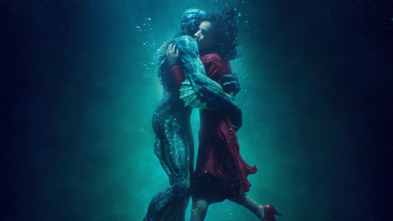 Doug Jones en Sally Hawkins in 'The Shape of Water' Beeld TMDB