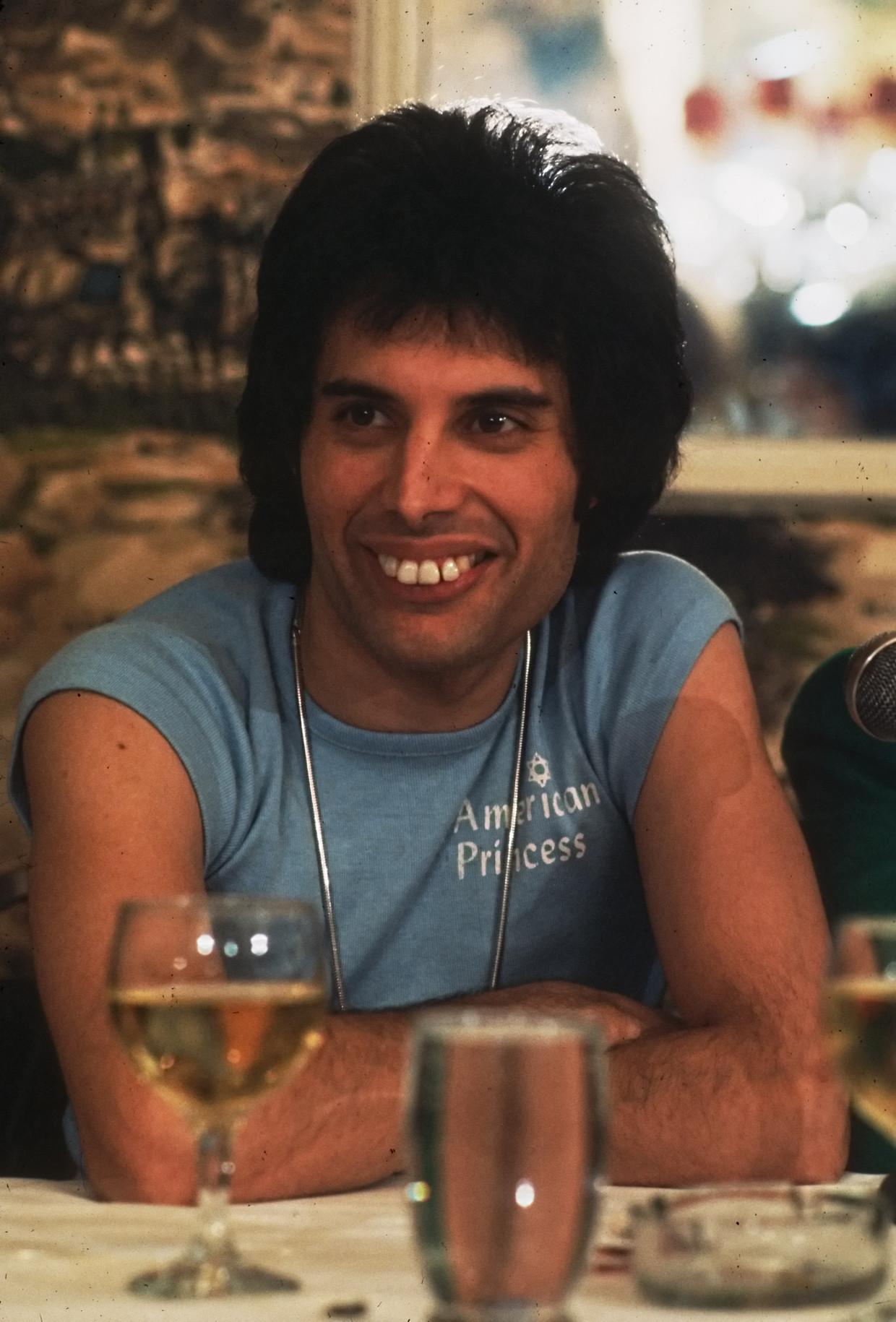 Freddie Mercury. Beeld Getty Images