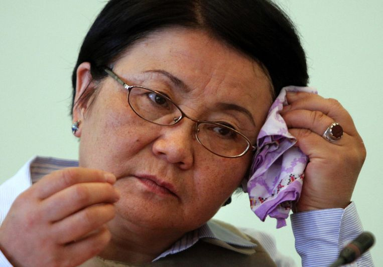 Presidente Roza Otunbayeva Beeld UNKNOWN