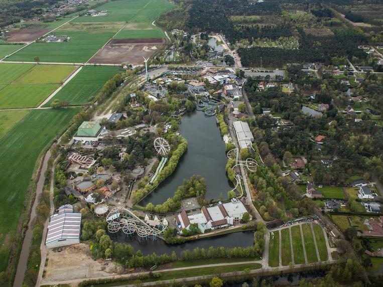 Pretpark Bobbejaanland in Lichtaart Beeld Pieterjan Luyten