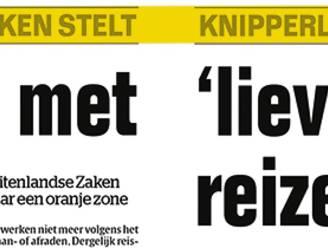 """""""Wordt Zweedse minister ook in quarantaine geplaatst bij aankomst in Brussel?"""""""