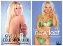 Pamela Anderson als gezicht (en lichaam) van dierenrechtenorganisatie PETA.