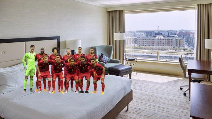 In deze (luxueuze) hotels verblijven Rode Duivels tijdens EK