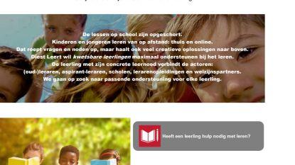 'Diest leert!' helpt kinderen die het moeilijker hebben met onderwijs in tijden van corona