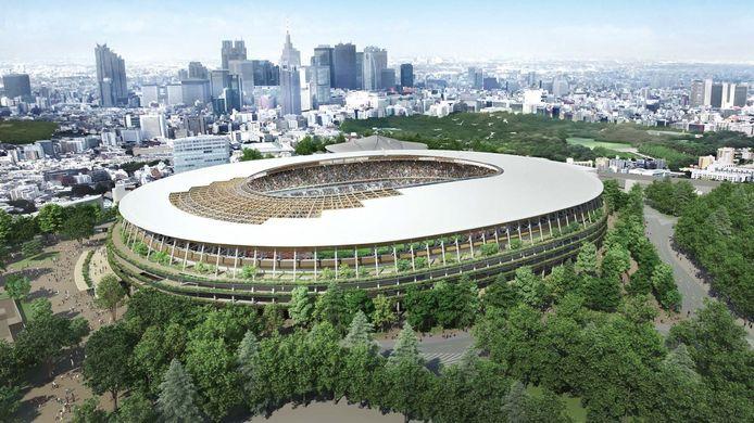 Olympisch stadion Tokyo 2021