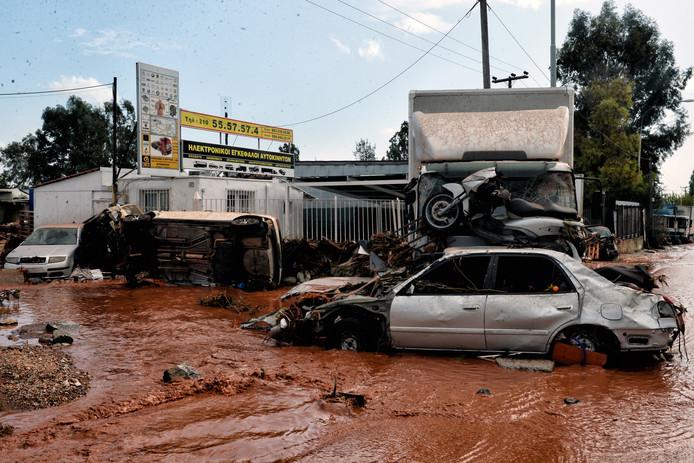 In november 2017 werd Griekenland ook al getroffen door noodweer. De schade was toen enorm.