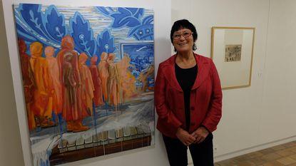 Miriam Maes knipoogt naar James Ensor