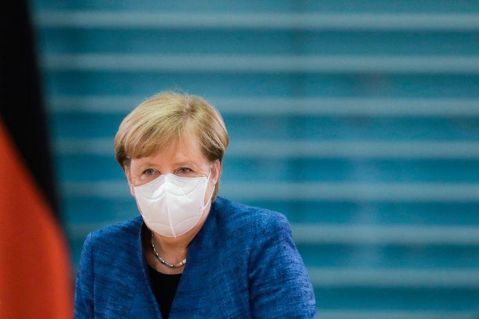 """""""Ce que sera l'hiver, ce que sera notre Noël, sera décidé dans les jours et les semaines à venir"""", a averti Angela Merkel."""