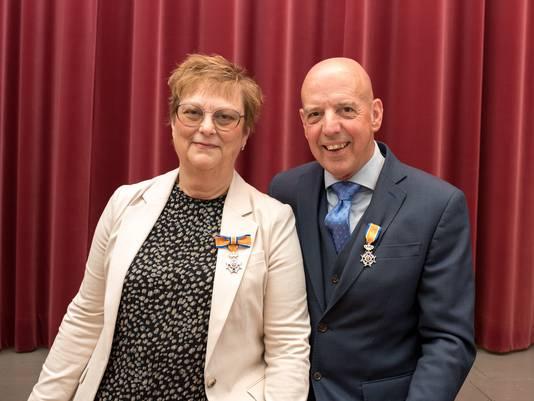 Leen en Tineke van der Werd.