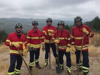 """Leedse brandweermannen bestrijden bosbranden in Portugal: """"Op een bepaald moment kregen we een douche van een blushelikopter"""""""