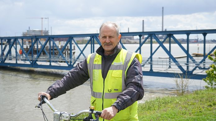Fons Buytaert pendelde 52 jaar lang met de fiets van en naar zijn werk bij Umicore in Hoboken.