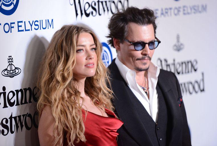 Amber Heard en Johnny Depp in betere tijden