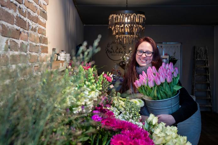 De 21-jarige Marrika Verstraete is een van de jongste ondernemers van de gemeente Ede.