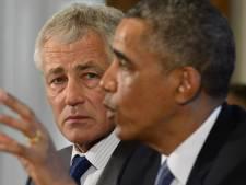 Hagel: VS klaar om in Syrië in te grijpen
