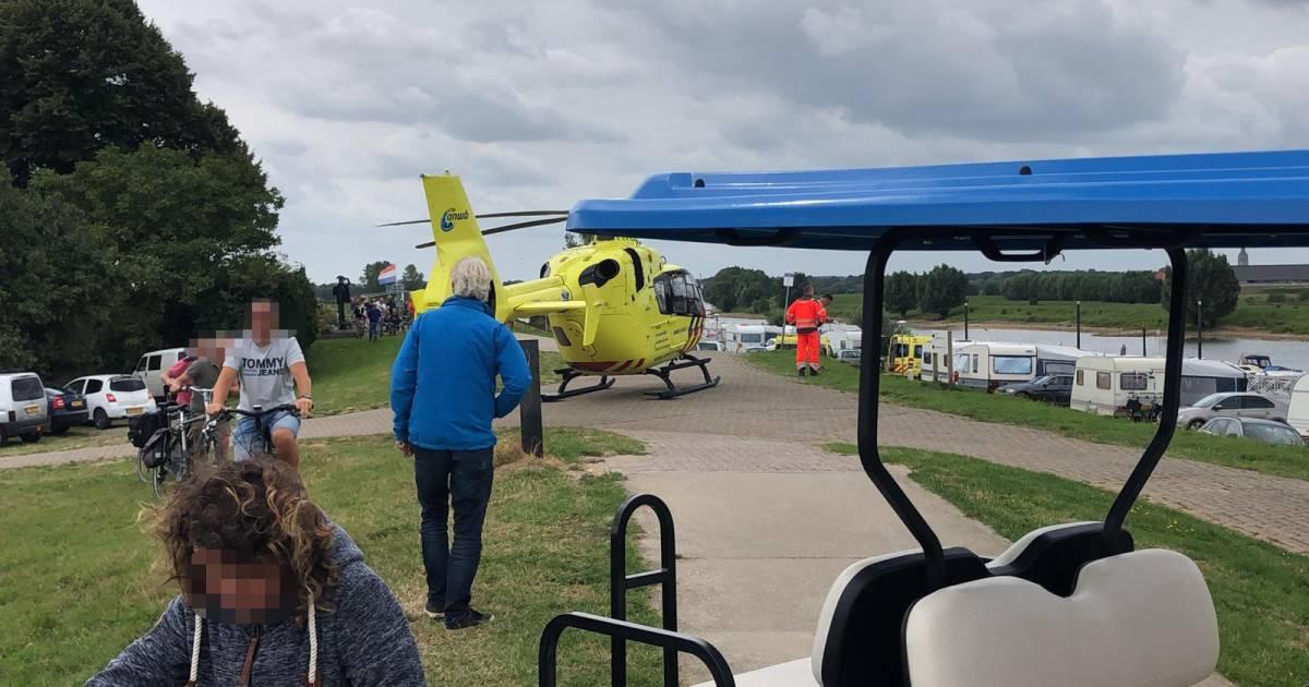 Man gereanimeerd na ongeval op het water bij Doesburg.