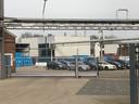 Het farmaceutisch bedrijf Carbogen Amcis aan de noordkant van Veenendaal, achter winkelcentrum en parkeergarage Scheepjeshof.