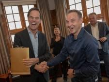 Trotse Peter de Graaf stopt niet na een lintje van Mark Rutte