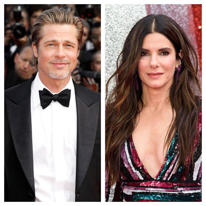 Brad Pitt en Sandra Bullock