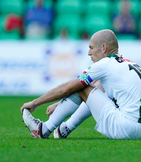 Geen Arjen Robben vrijdagavond in De Grolsch Veste
