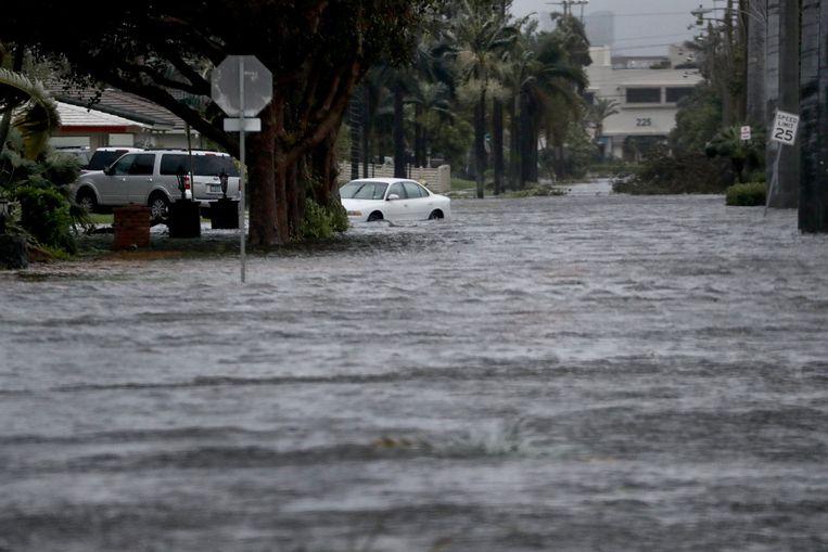 Een beeld uit Hollywood, Florida. Beeld Photo News