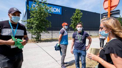 Vakbonden Decathlon vragen interventie van minister van Werk