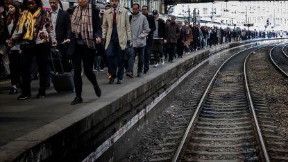 Opnieuw hinder door Franse spoorstaking: 2 op 3 TGV's rijden niet