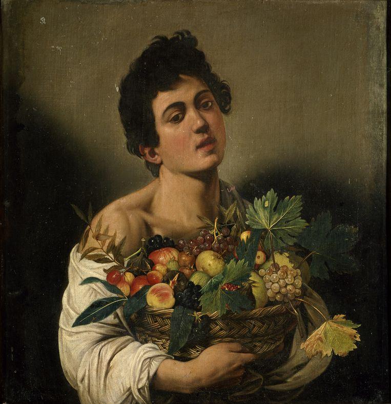 Caravaggio: Jongen die een fruitmand draagt, 1593/94.. Beeld AKG/ Andre Held