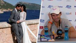 """Nadal krijgt na verlies op ATP Finals plots vraag over zijn huwelijk: """"Dit is bulls**t"""""""