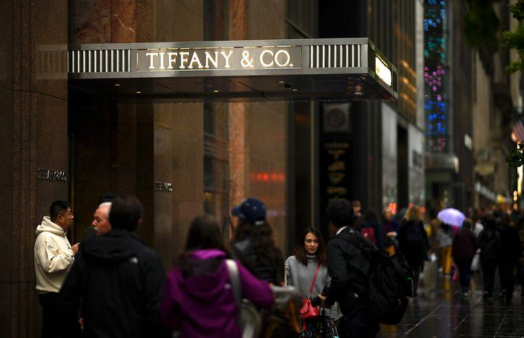 Het bekendste filiaal van Tiffany & Co is het megachique op 5th Avenue in Manhattan.