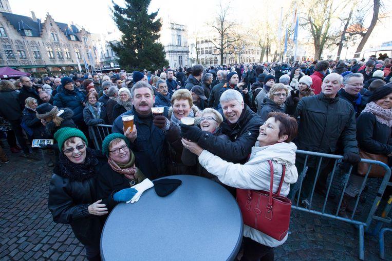 Het Brugse stadsbestuur zal niet alleen op de Burg, maar ook in Zeebrugge, Lissewege en Dudzele een nieuwjaarsreceptie houden.