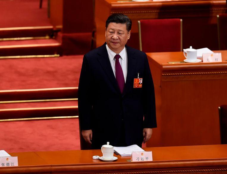 President Xi Jinping.  Beeld AFP