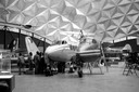 De koepel herbergde tussen 1971 en 2003 vliegtuigmuseum Aviodome