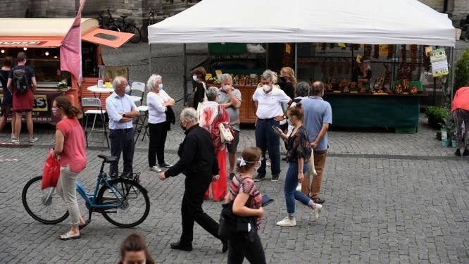 """Discussie over mondmaskerplicht in hartje Leuven laait weer op: """"Als eerste stap: afschaffen voor fietsers"""""""