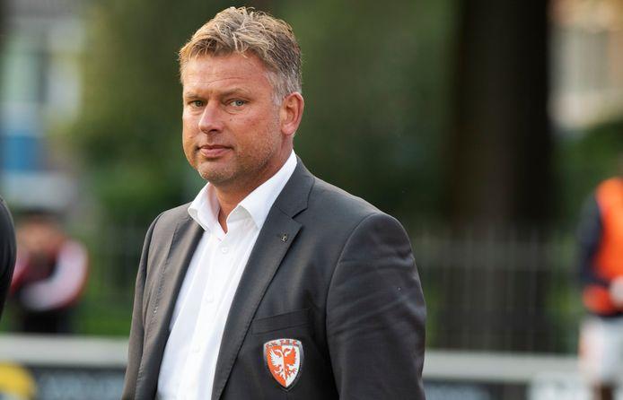Voor TEC-trainer Hans van de Haar was de nederlaag bij Gemert de tweede nederlaag op rij. Zondag verloor TEC in de competitie nog van AFC.