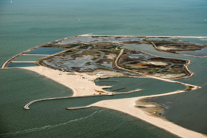 De eerste eilanden van Marker Wadden zijn zo'n succes dat de uitbreiding van de archipel al is ingetekend.