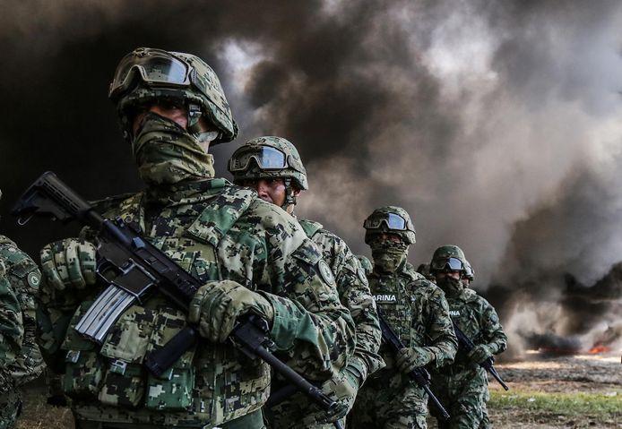 Een actie tegen drugskartels in Acapulco. In Mexico vielen tijdens 12 jaar drugsoorlog 235.000 doden.
