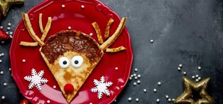 Ouders trekken alles uit de kast voor het kerstdiner op school