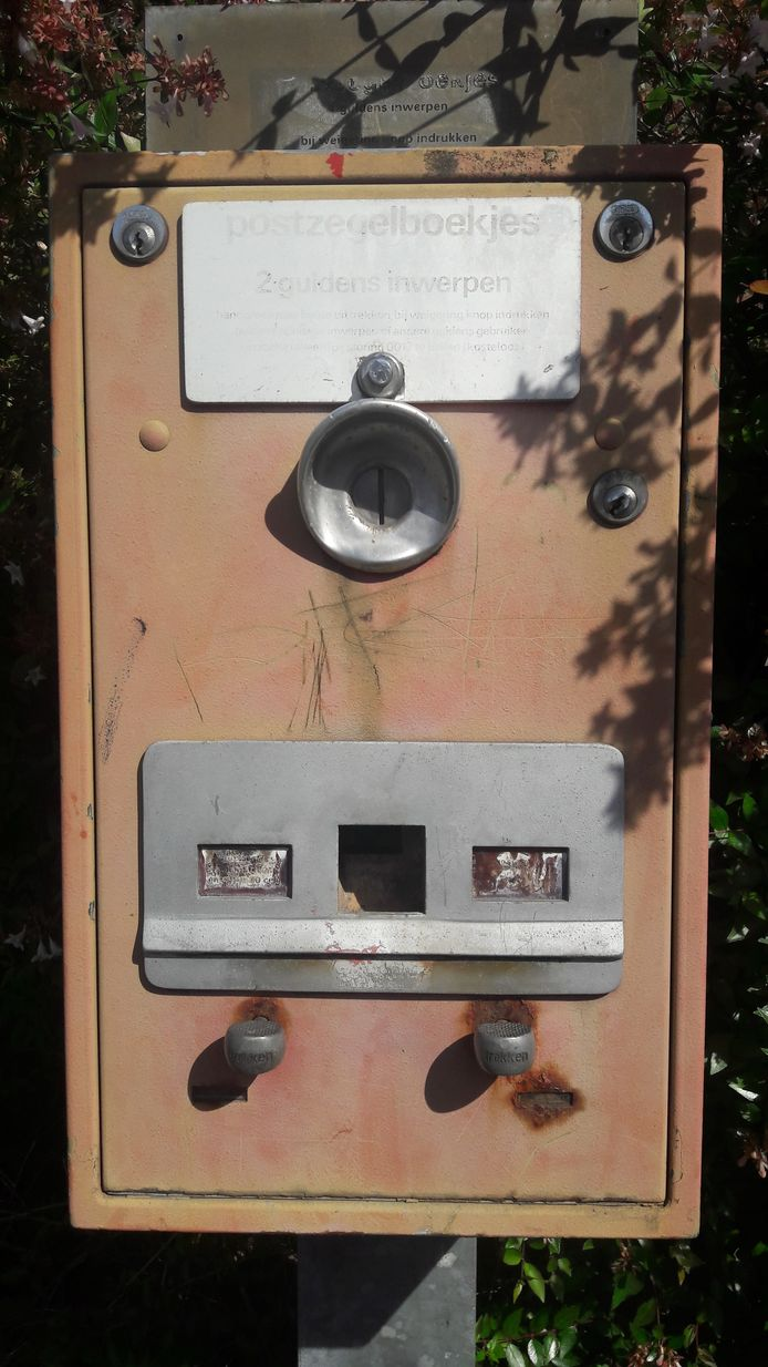 Postzegelboekjesautomaat Woensel