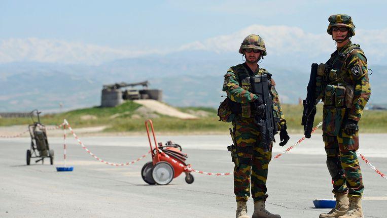 Belgische militairen in Afghanistan. Beeld BELGA